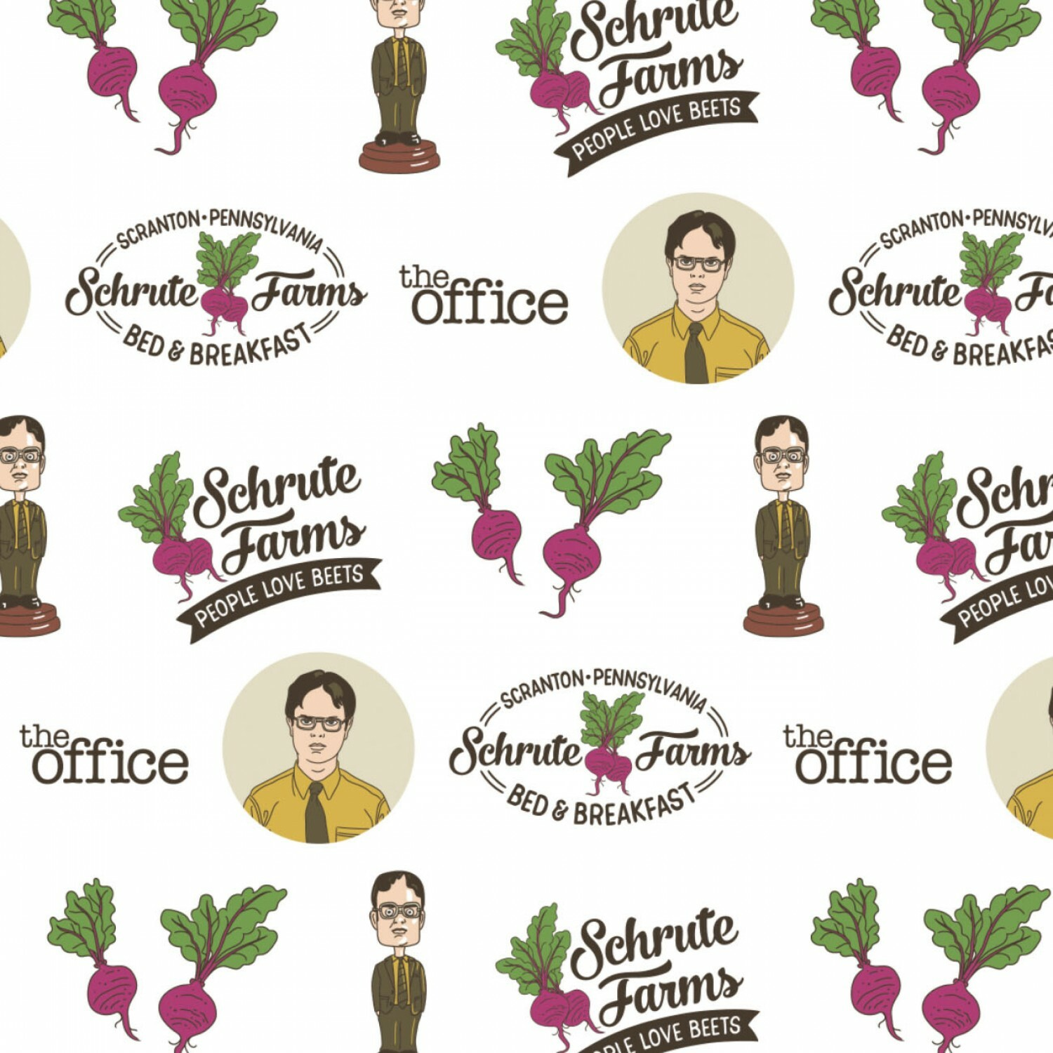 Schrute Farms - The Office  - 1/2m cut 57056