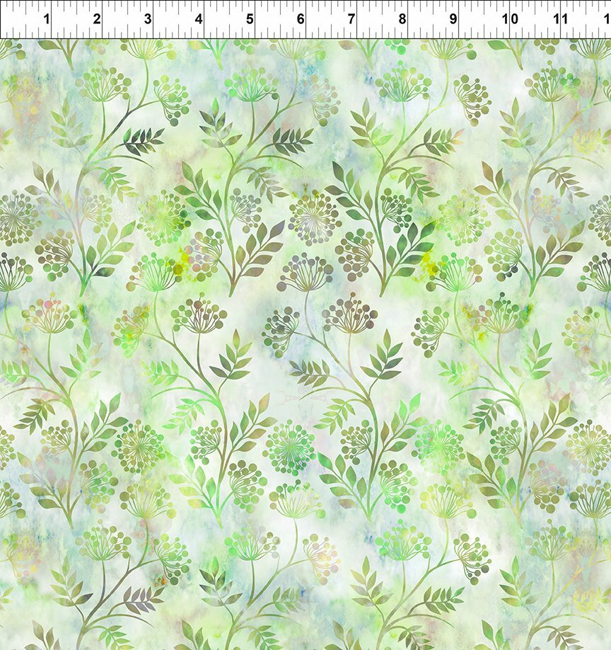 Florigraphix V - Green Sprigs (6-3) - 1/2m cut 57075