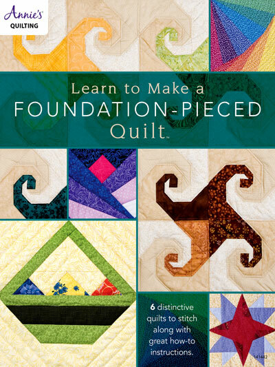 Learn to Make a Foundation-Pieced Quilt 57096