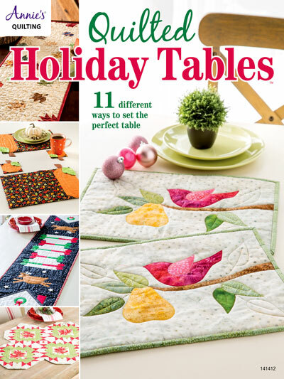Quilted Holiday Tables 57104