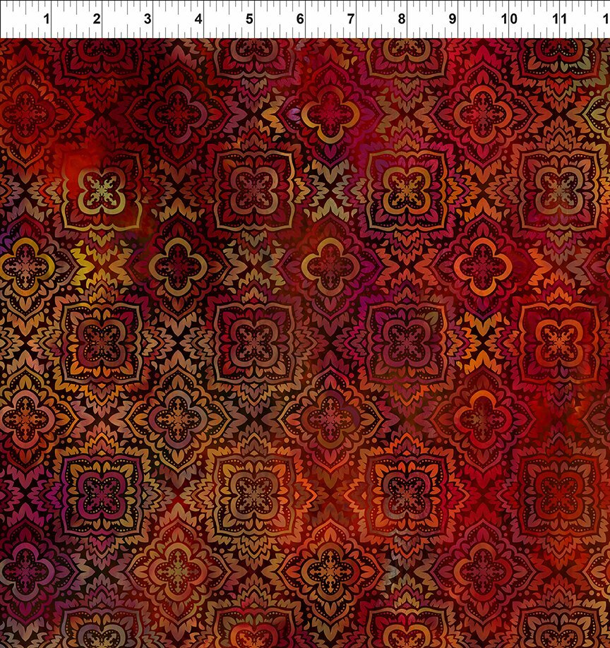 Tapestry - Spice Medallion (3-1) - 1/2m cut 57119