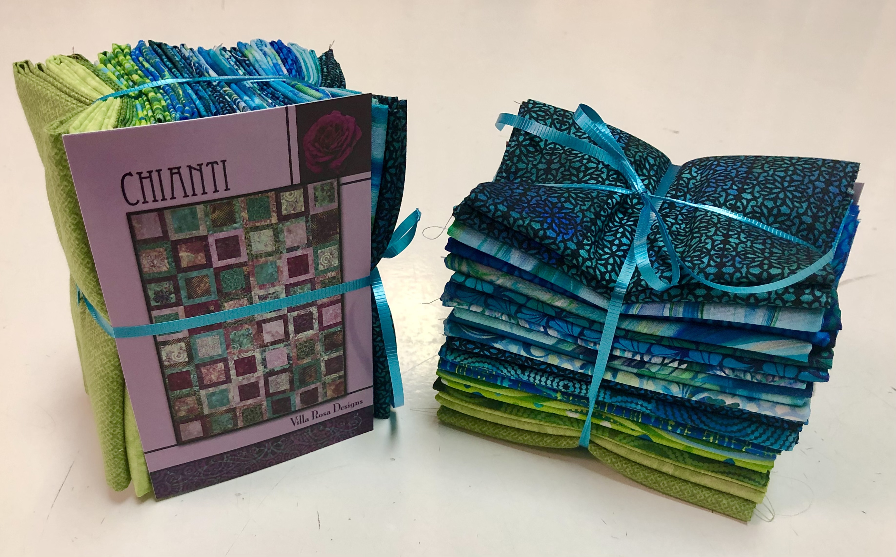 Chianti Quilt Kit - Blue/Teal/Green 57137