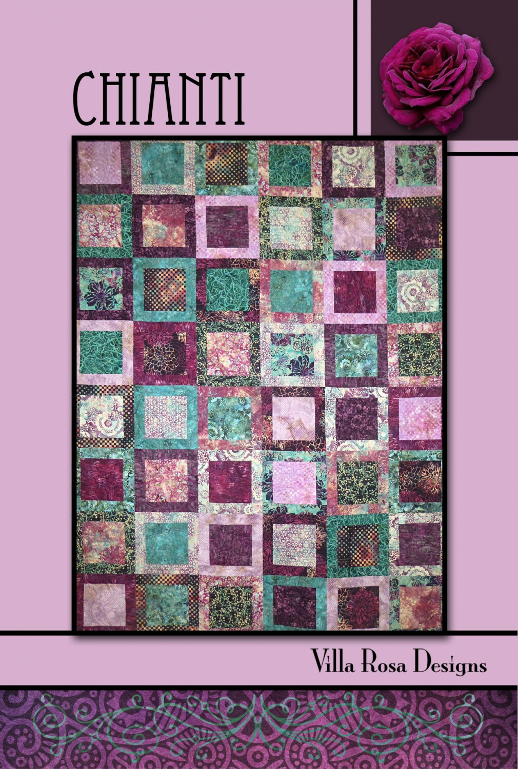 Chianti Quilt Kit - Blue/Teal/Green