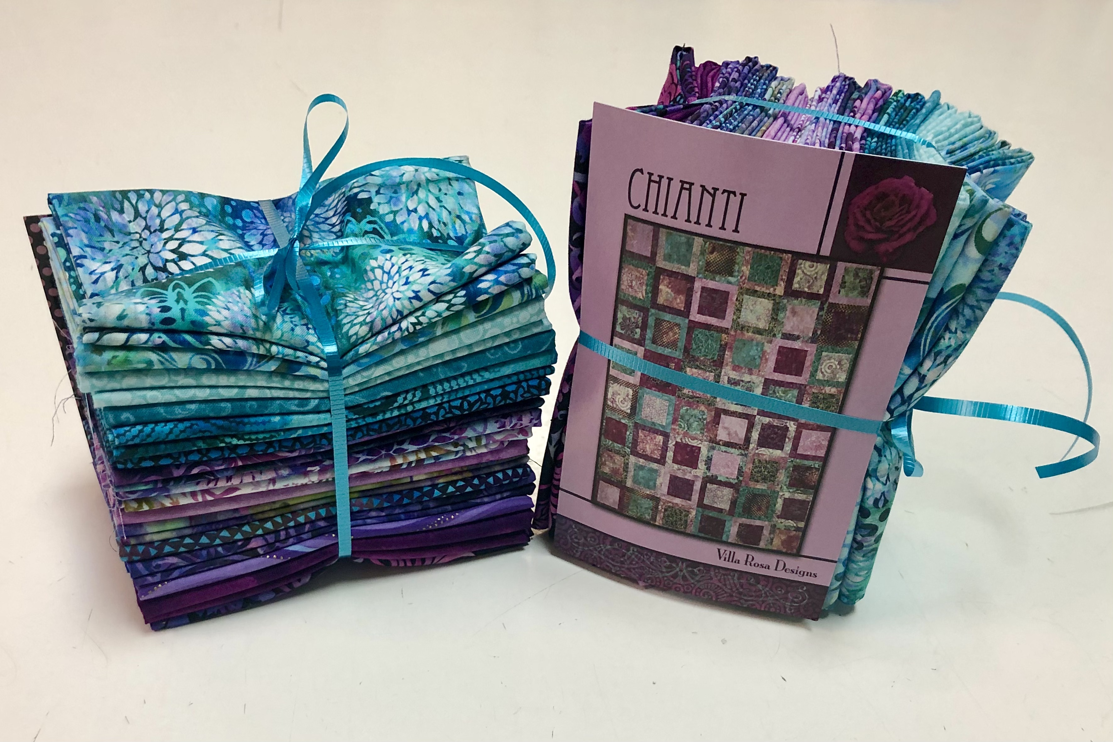 Chianti Quilt Kit - Purple and Teal 57138