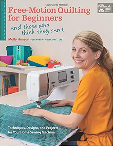 Free-Motion Quilting for Beginners (and those who think they can't) 57163