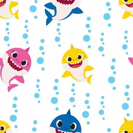 Baby Shark - Family Bubble Blast - 1/2m cut 57262