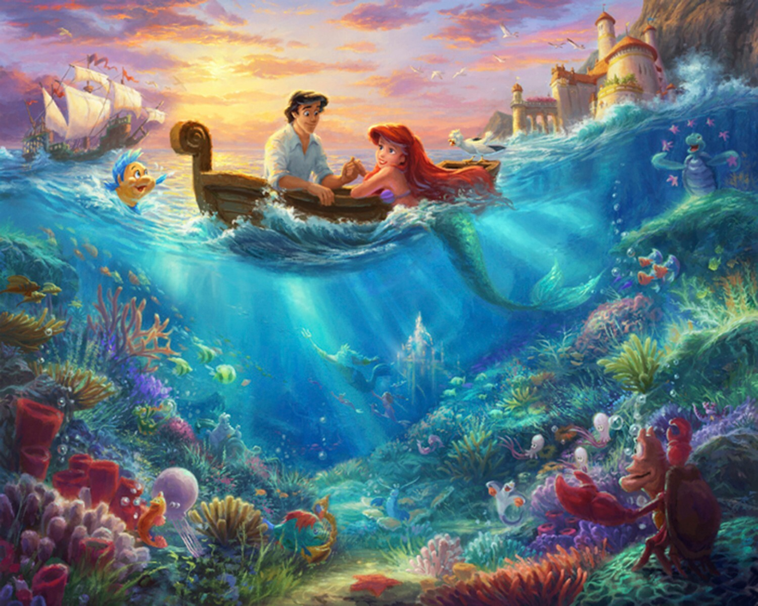 Disney Dreams Panel - Little Mermaid 57267