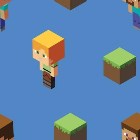 Minecraft - Alex and Steve - 1/2m cut 57254