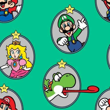 Nintendo - Mario Badge - 1/2m cut 57260