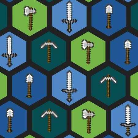 Minecraft - Tools - 1/2m cut 57257