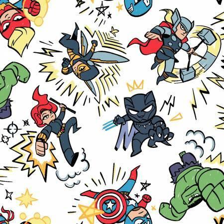 Kapow - Avengers - 1/2m cut 57288