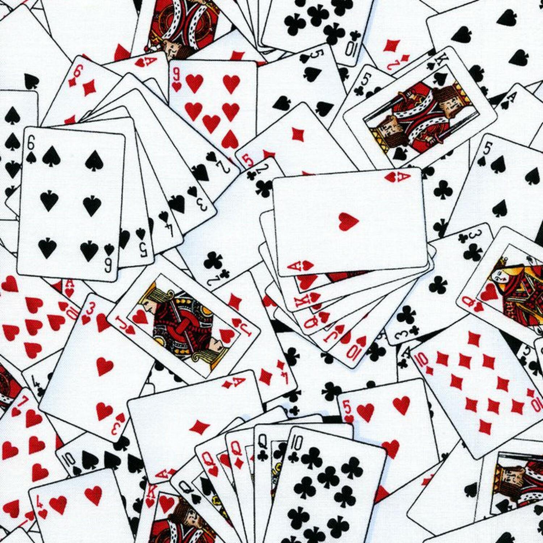 Jackpot - Playing Cards - 1/2m cut 57344