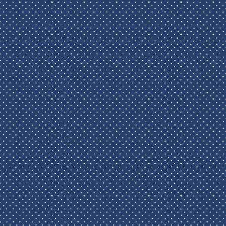 Roots of Love - Navy Dots - 1/2m cut 57432