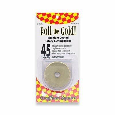 Roll the Gold Replacement Blades - 45mm (2 per pack) 57463