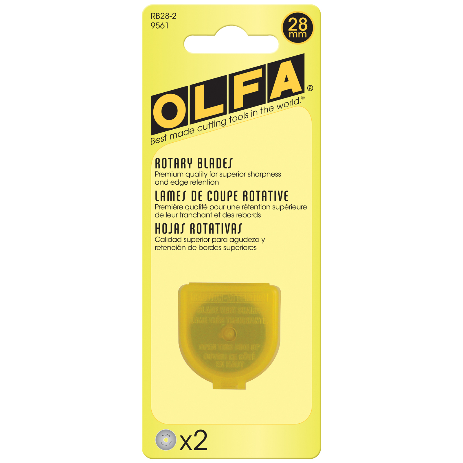 Olfa Replacement Blades - 28mm (2 per pack) 57465
