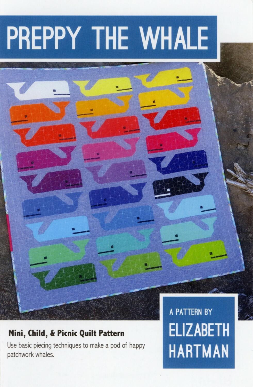 Preppy the Whale Pattern by Elizabeth Hartman 57468