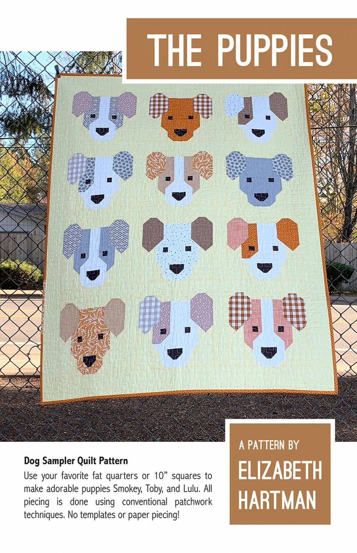 The Puppies Pattern by Elizabeth Hartman 57469