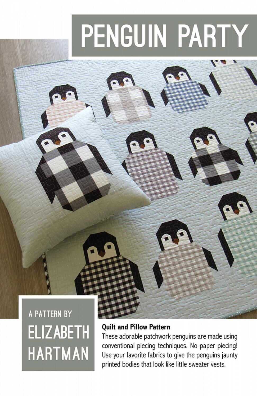 Penguin Party Pattern by Elizabeth Hartman 57471