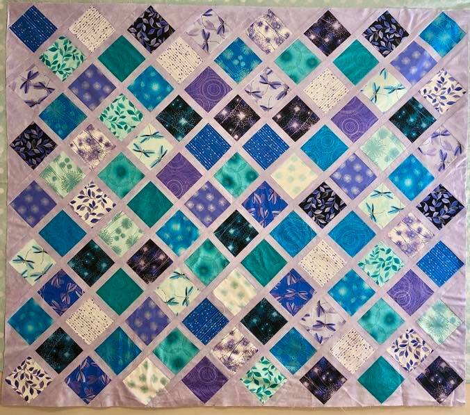 Stacked Diamonds OR Magic Squares - Intermediate Quilting - ONLINE CLASS 57481