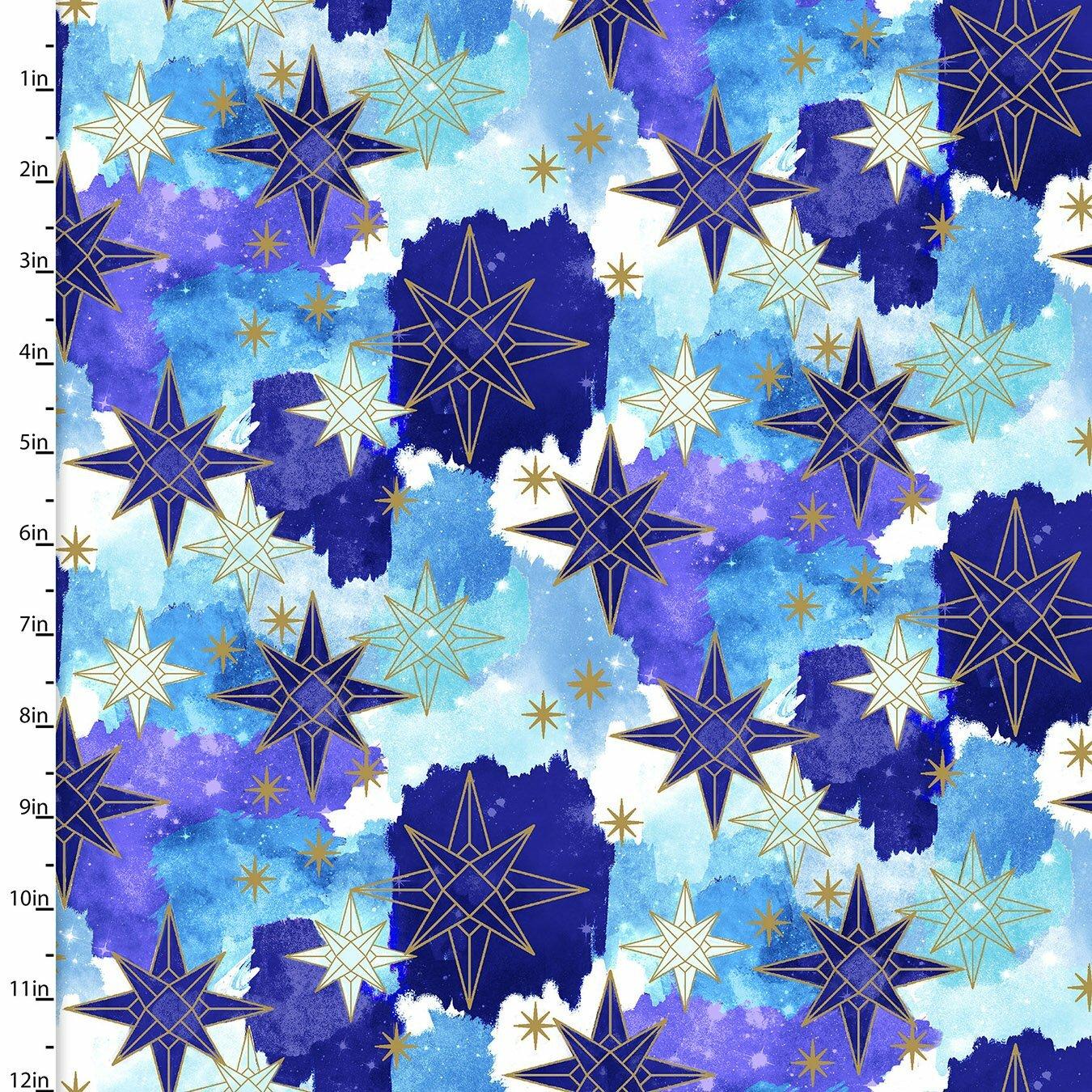 Magical Galaxy - Stars - 1/2m cut 57494