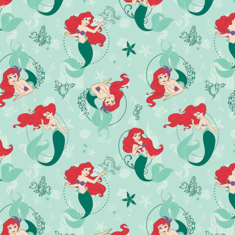Ariel - Disney Princess - 1/2m cut 57510