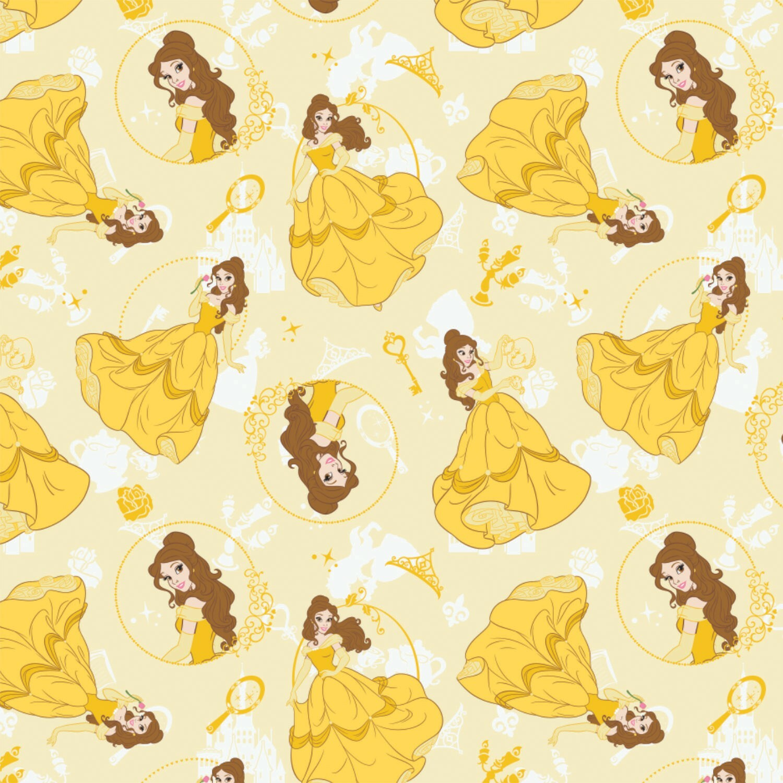 Belle - Disney Princess - 1/2m cut 57511