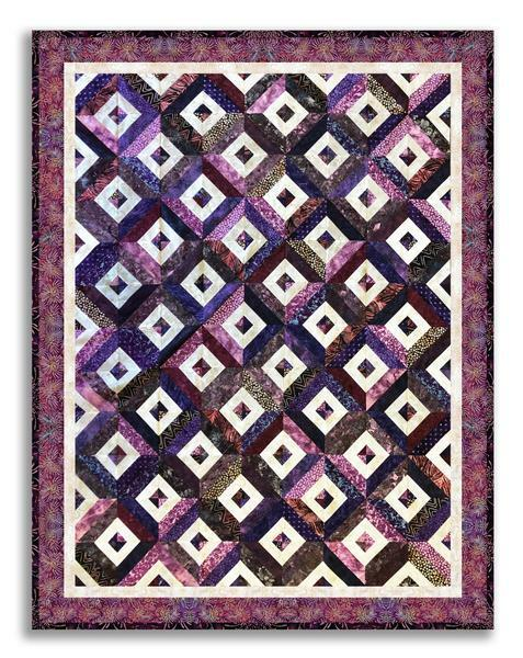 Stacked Diamonds OR Magic Squares - Intermediate Quilting - ONLINE CLASS