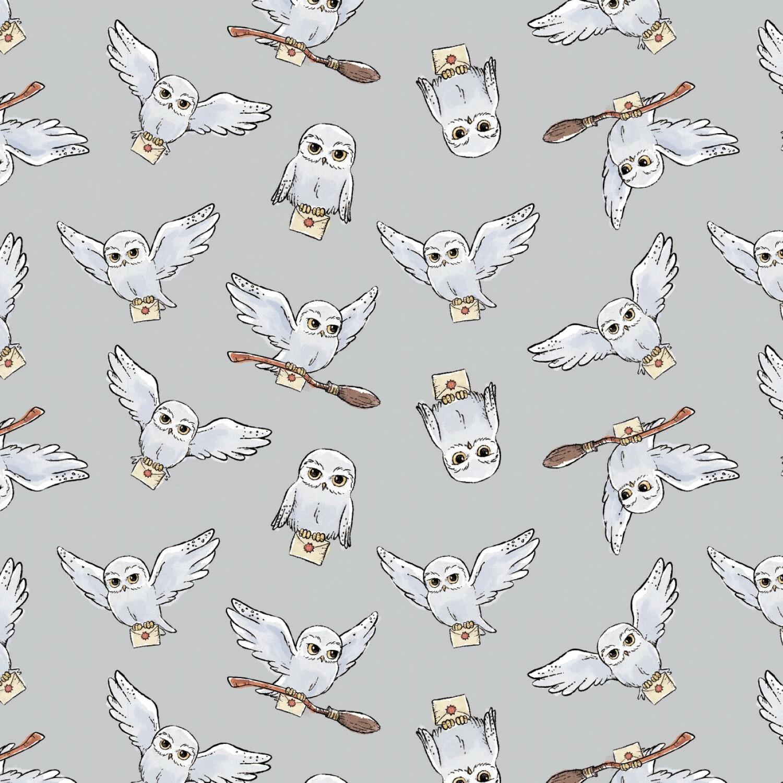 Hedwig - Harry Potter  - 1/2m cut 57515