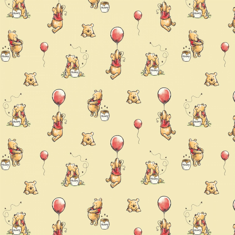 Winnie the Pooh - 1/2m cut 57522