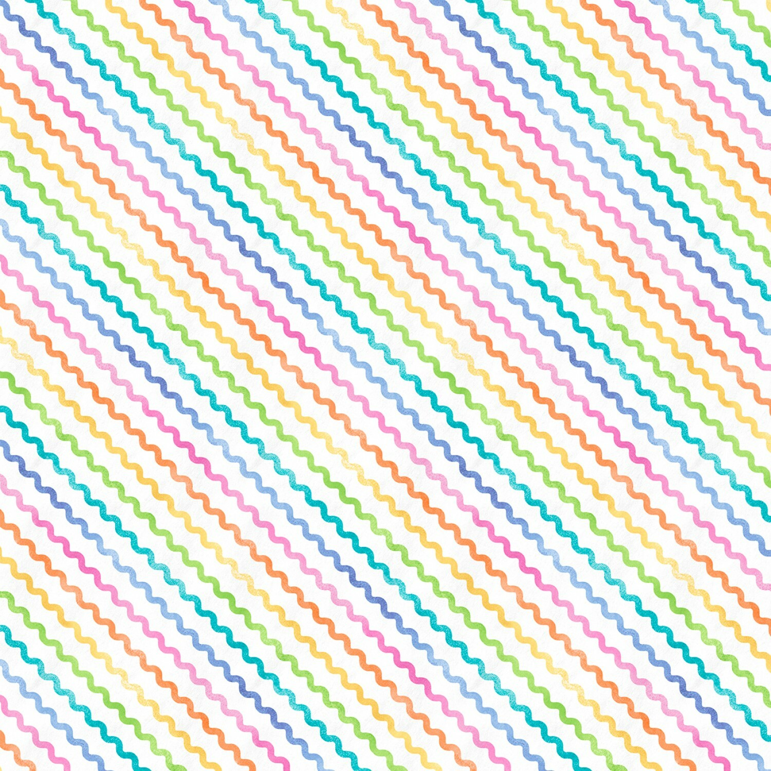 Rainbow Rickrack - Raindrops and Sunshine - 1/2m cut 57544