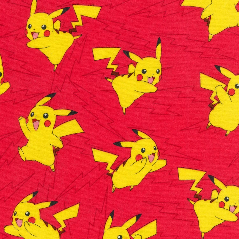 Pokemon FLANNEL - 1/2m cut 57546