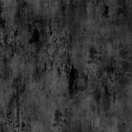 Vintage Texture - Black (999) - 1/2m cut 57560
