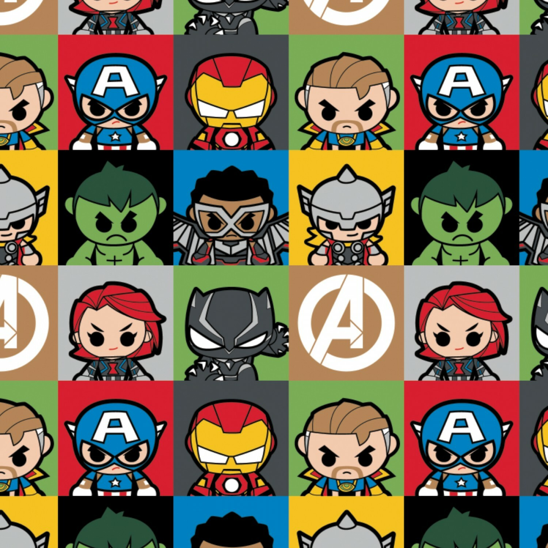 Mini Hero Blocks - Marvel - 1/2m cut 57575