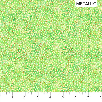 Wild Thing - Lime Twist - Splatter - 1/2m cut 57656