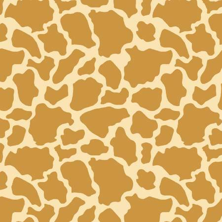 Wild & Free - Giraffe Skin - 1/2m cut 57682