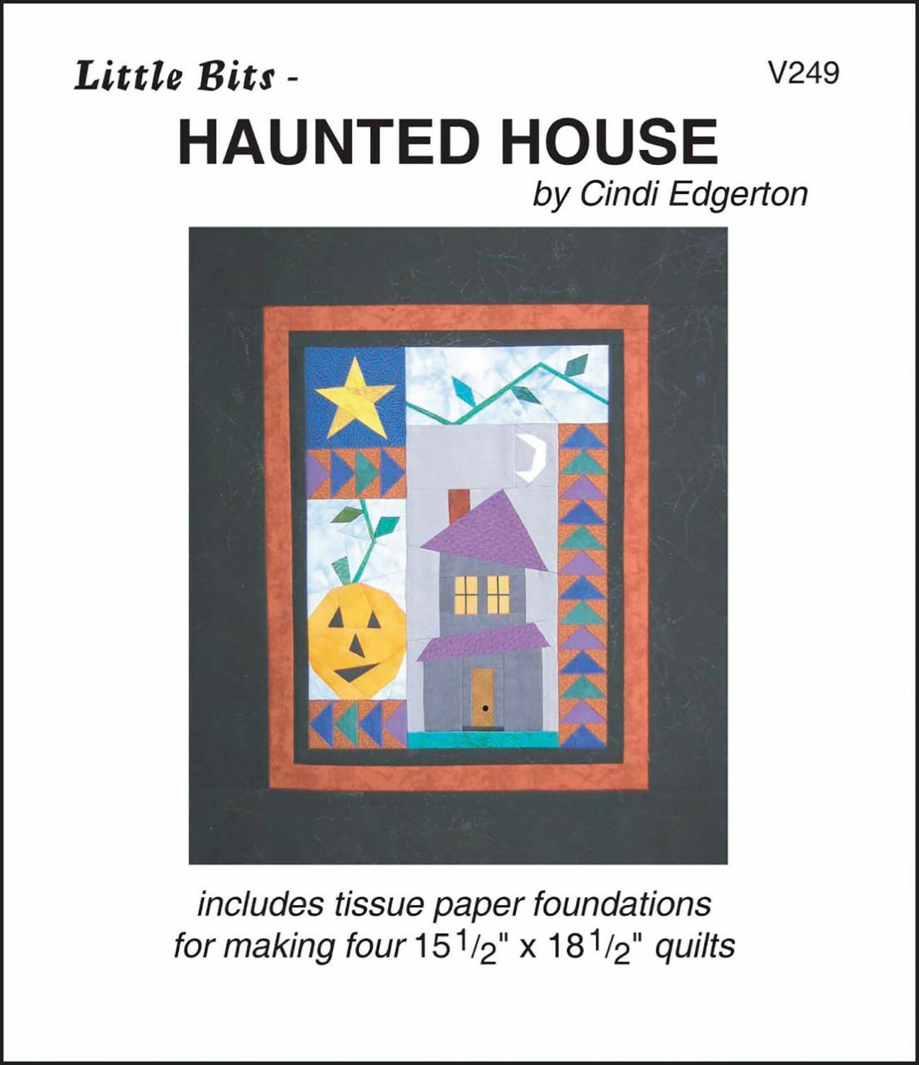 Haunted House - Paper Piecing 57689