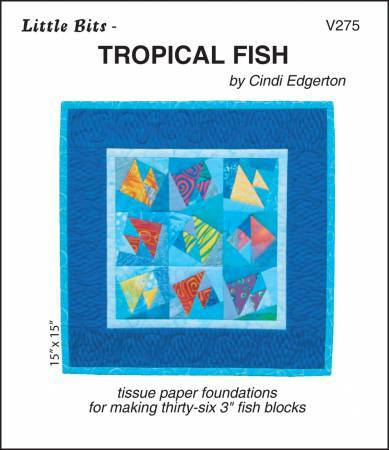 Tropical Fish - Paper Piecing 57692