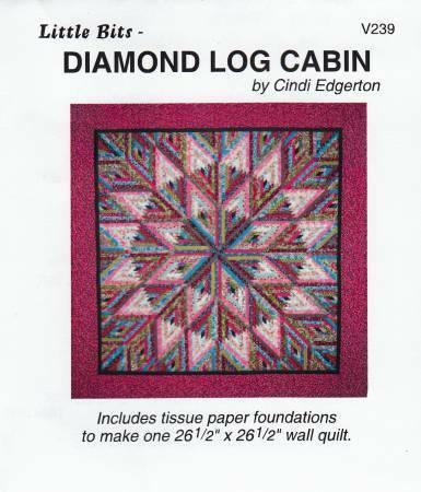 Diamond Log Cabin - Paper Piecing 57687
