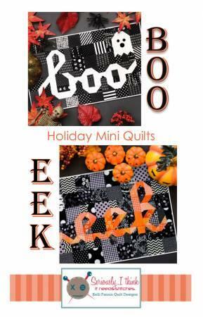 Boo/Eek Mini Quilt Series Quilt Pattern 57694