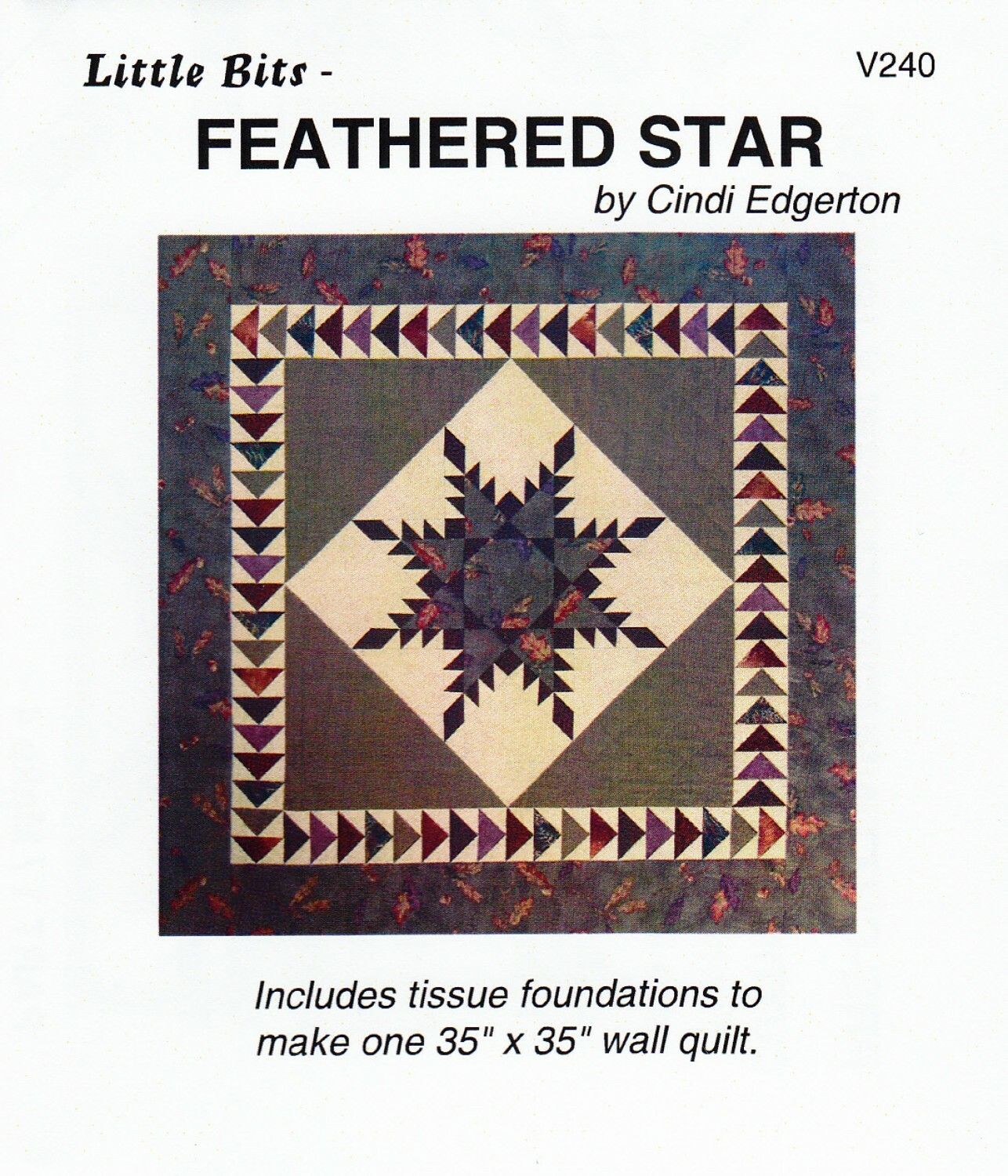 Feathered Star - Paper Piecing 57688