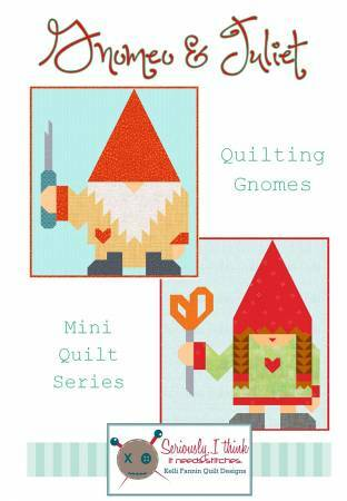 Gnomeo and Juliet Quilt Pattern 57696