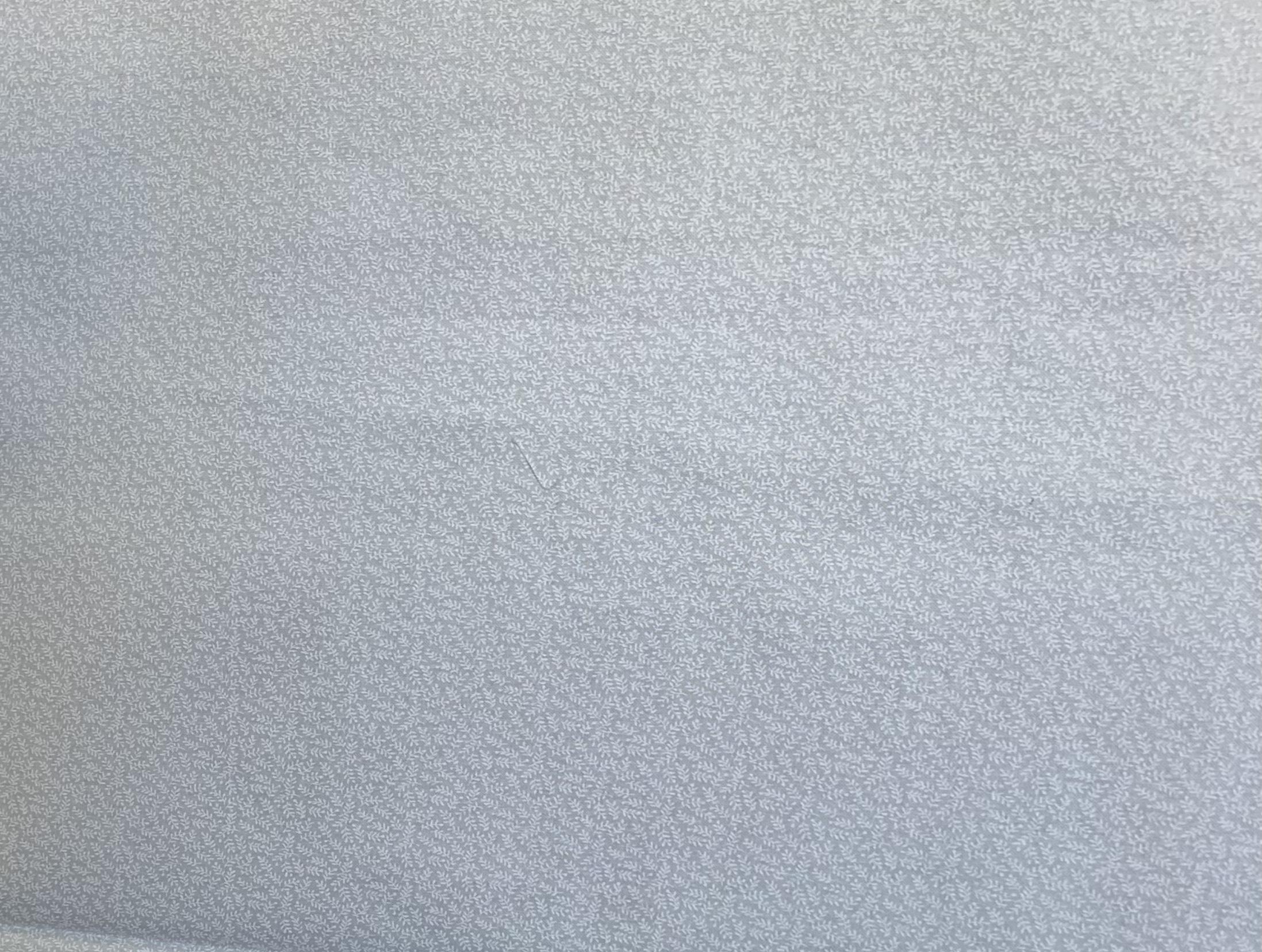 White Tone on Tone - Ferns - 1/2m cut 57714