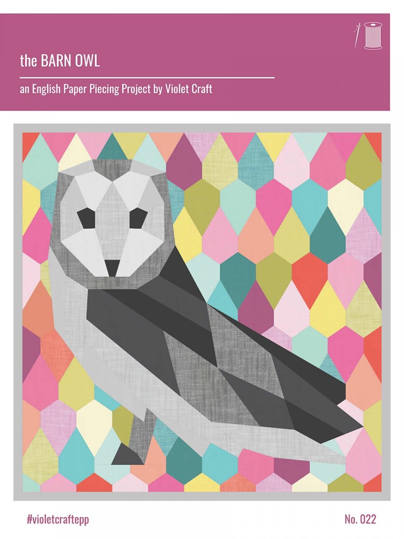 Barn Owl - English Paper Piecing Pattern 57772