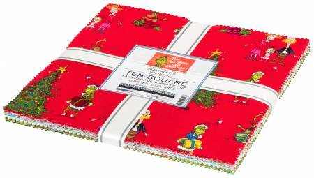 How the Grinch Stole Christmas Layer Cake