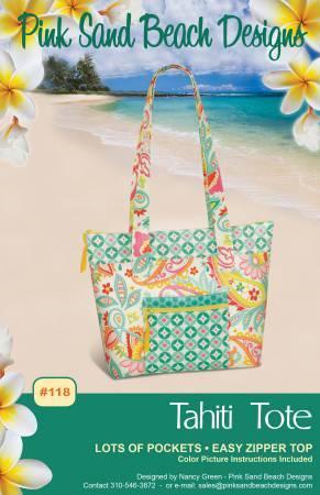 Tahiti Tote Bag Pattern 57827