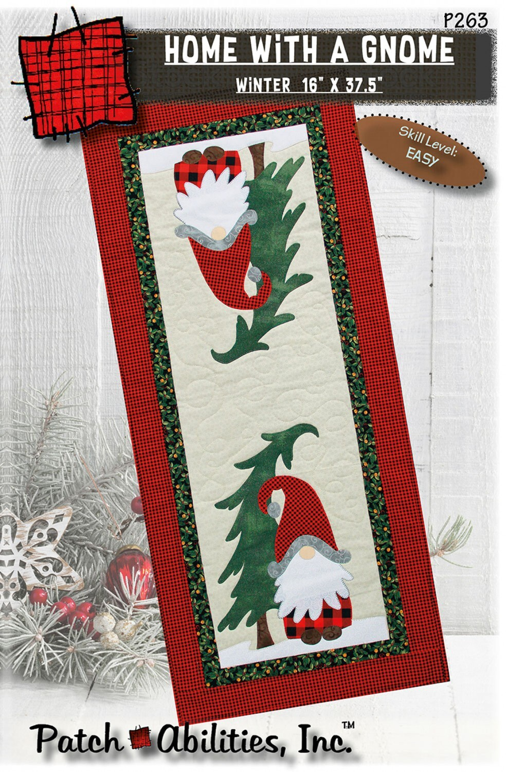 Learn to Applique - Gnome Table Runner Class - Fall 2021 57483
