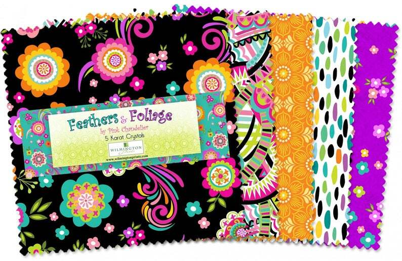Feathers and Foliage Charm Pack 57909