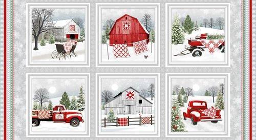 Holiday Heartland Panel 57918