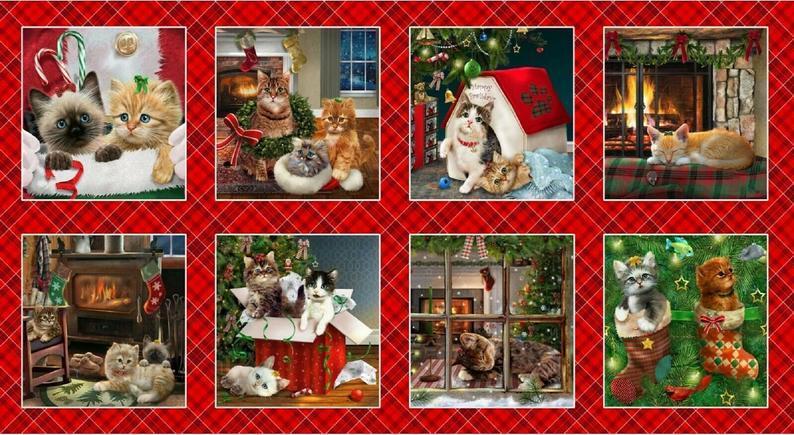 Fireside Kittens Panel 57917