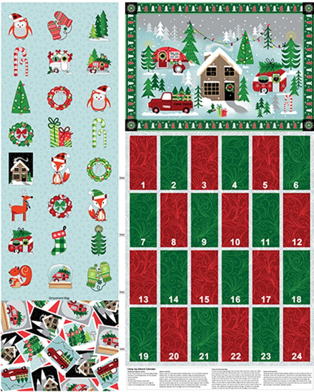 Camp Joy Advent Calendar Panel 57915